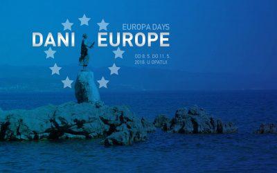 8. svibnja 2018. svečano otvaranje Dana Europe