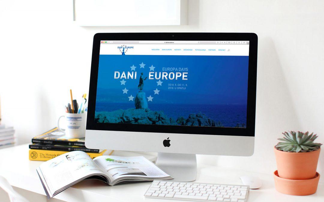 Nova internet stranica —> www.danieurope.eu